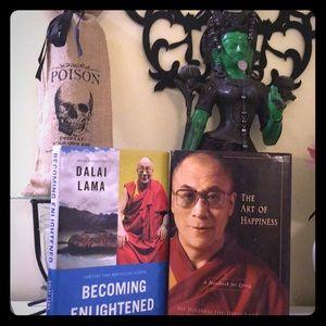 2 hardcover Buddhism books by the Dalai Lama 📚